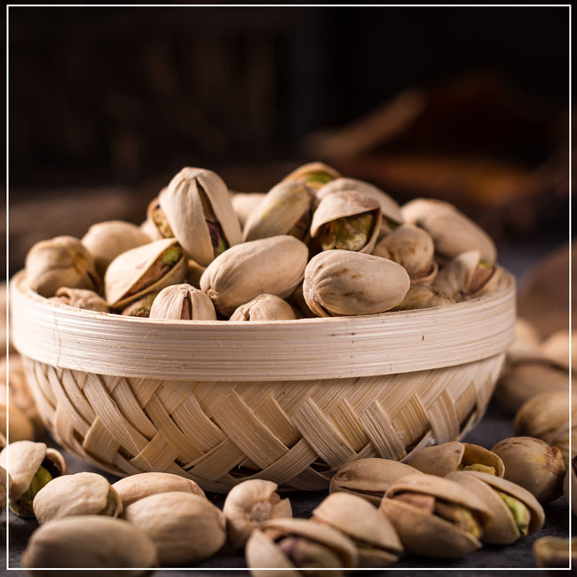 From the country of pistachios Gaziantep